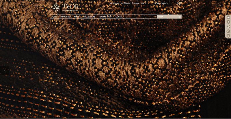 izrada sajta za web shop teoli weaving