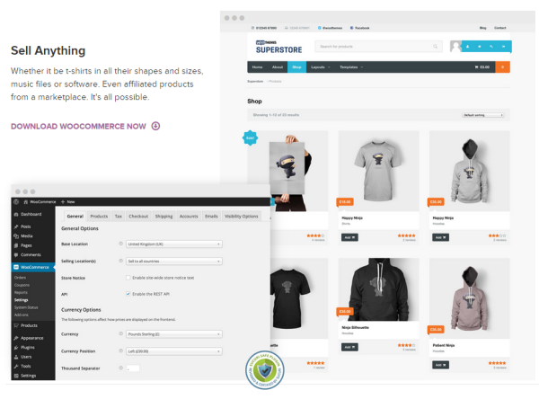 WooCommerce-features