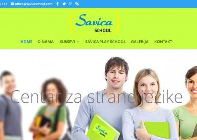 Izrada sajta za školu stranih jezika