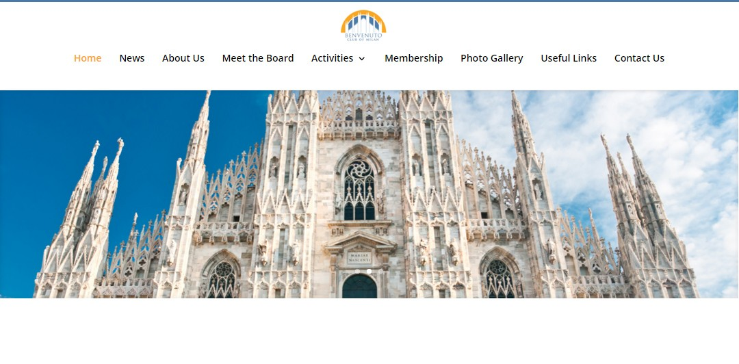 Izrada sajta benvenuto Milano
