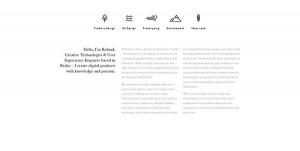 dizajn i tekst