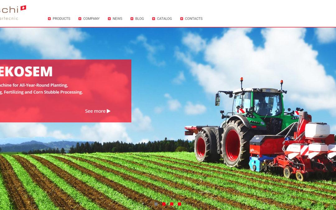 Izrada sajta za Baertschi Perma-Agrartecnic