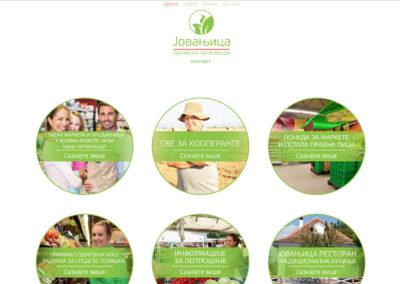 Izrada sajta za proizvođača organske hrane